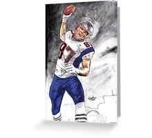 The UNSTOPPABLE Gronk Greeting Card