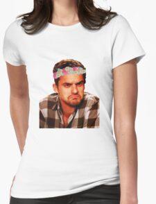Grumpy Nick Womens Fitted T-Shirt