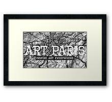 """""""ART PARIS Developer"""" Framed Print"""