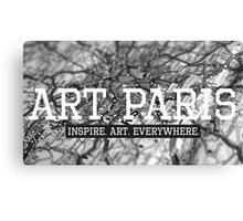 """""""ART PARIS Developer"""" Canvas Print"""