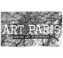 """ART PARIS Developer"" Poster"