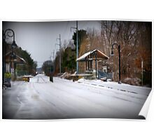 Snow Bound in New England Poster