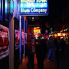 Bourbon Street  Blues Company by Mattie Bryant