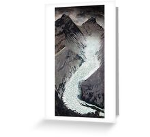 Khumbu icefall Mt. Everest Greeting Card
