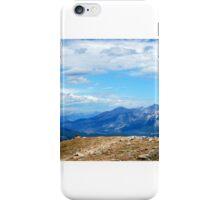 same sky different horizon iPhone Case/Skin