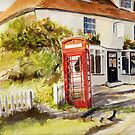 Appledore Kent - The phone box by Beatrice Cloake