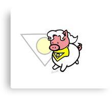 Apollo Pig! Canvas Print