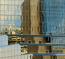 Building reflections by Gary Lange