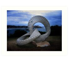 Sculpture by the Sea.5 Art Print