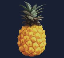 Pineapple Painting One Piece - Short Sleeve