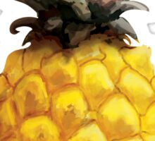 Pineapple Painting Sticker