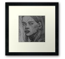 Maybe She's Angry Framed Print