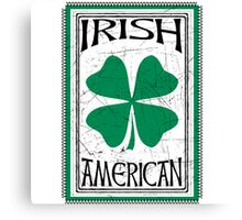 Irish American Canvas Print