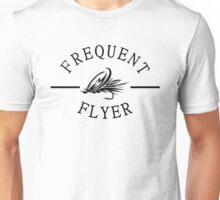 Frequent Flyer Fly Fishing Unisex T-Shirt
