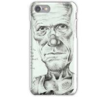 Walking Dead 'Merle' gourmet caricature by Sheik iPhone Case/Skin