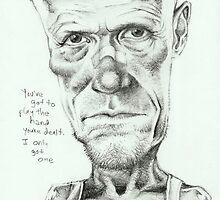 Walking Dead 'Merle' gourmet caricature by Sheik by sheik1