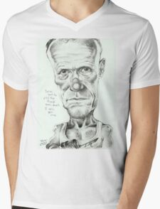 Walking Dead 'Merle' gourmet caricature by Sheik Mens V-Neck T-Shirt