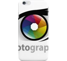 Photographer community iPhone Case/Skin