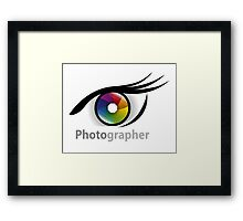 Photographer community Framed Print