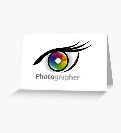 Photographer community Greeting Card