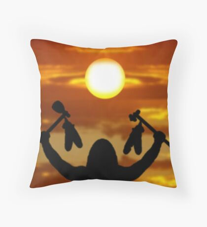 Warriors Choice- Calander Throw Pillow