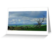 Country Fields, South Australia Greeting Card