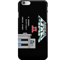 Megaman 2 - He's up on the effin' roof iPhone Case/Skin