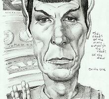 'Spock' gourmet caricature by Sheik by sheik1