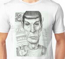 'Spock' gourmet caricature by Sheik Unisex T-Shirt