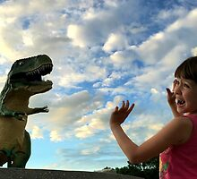 The World's Largest Dinosaur is Out to Get Me! by jenleo