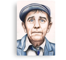 Sir Norman Wisdom OBE Canvas Print