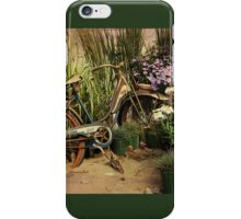An Old Bicycle ~ Move It or Use It? iPhone Case/Skin