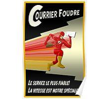 Lightning Courier Poster