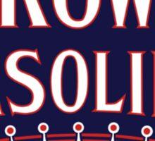 Crown Gasoline Shirt Sticker