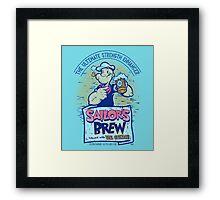 Sailor's Brew Framed Print