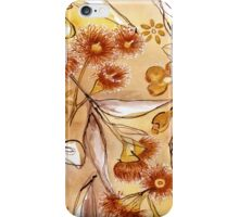 Golden Australian Gum Flower iPhone Case/Skin