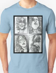 'Kiss' gourmet caricatures by Sheik Unisex T-Shirt