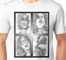 'Kiss' gourmet caricatures by Sheik Unisex T-Shirt