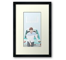 Sea Green Car Jin Framed Print
