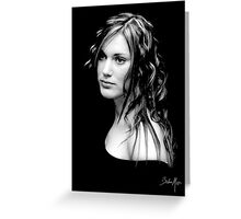 A Look...  Greeting Card