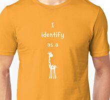 I Identify as a Giraffe Unisex T-Shirt