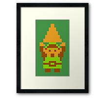 Legend of Zelda: Triforce of Courage Framed Print
