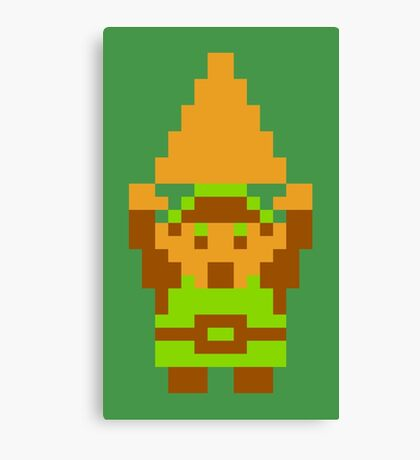 Legend of Zelda: Triforce of Courage Canvas Print