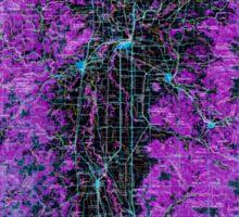 USGS Topo Map Oregon Salem 283353 1963 250000 Inverted Sticker