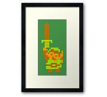 Legend of Zelda: Get Equipped! Framed Print