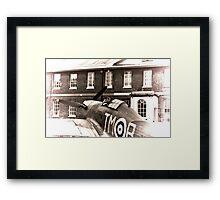 MK1 Hurricane (Replica) Framed Print