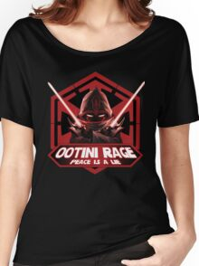 Ootini Rage - Peace is a lie Women's Relaxed Fit T-Shirt