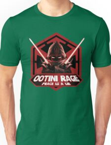 Ootini Rage - Peace is a lie Unisex T-Shirt