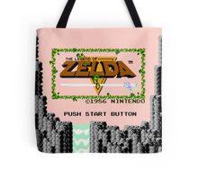 Legend of Zelda: Start Screen Tote Bag