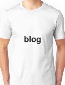 blog Unisex T-Shirt